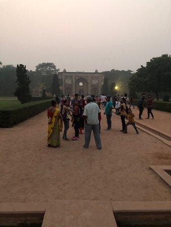New Delhi, India: På lite längre avstånd
