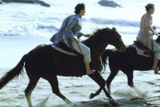 Love To Ride On Goa Beach