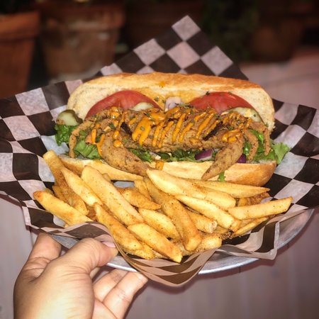 Soft-Shell Crab Po'boy