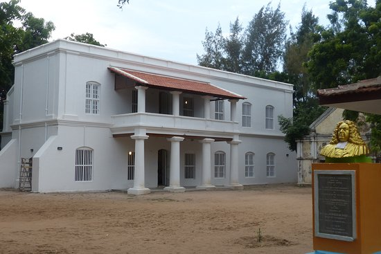 ‪‪Nagapattinam‬, الهند: The Ziegenbalg House in Tharangambadi - A Museum on Intercultural Dialogue‬