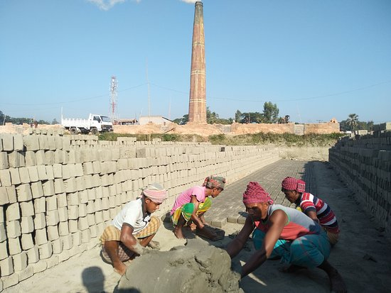 Brick Factory workers in Bangladesh!