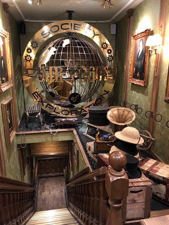Interior - Mr Fogg's Society of Exploration Photo