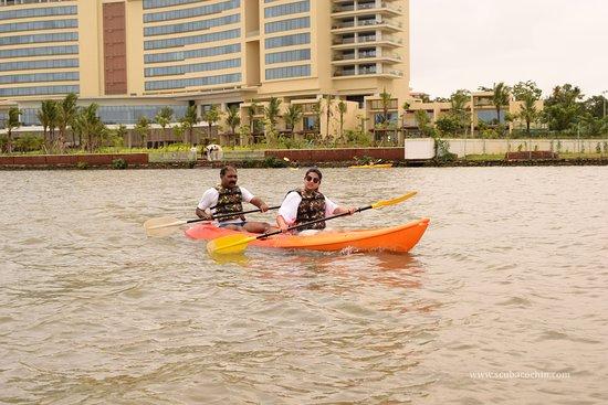 Коччи (Кочин), Индия: Kayaking