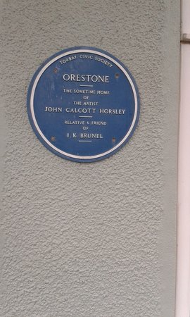 Blue Plaque to J C Horsley