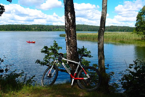 Warmia-Masuria Province, Pologne : Radwandern in Masuren, Polen. Biking in Masurian Lake District, active holidays in Poland with activeast-tours.com