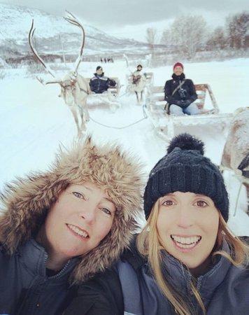 Tromso Lapland: Enjoy reindeer sledding, an unforgettable experience