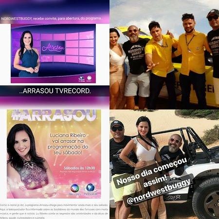 Nordwestbuggy, escolhida para abertura do programa ARRAZOU da TV RECORD com Luciana Ribeiro..Graças a Deus por tudo..nada melhor que o reconhecimento por todo trabalho..com amor e dedicação..