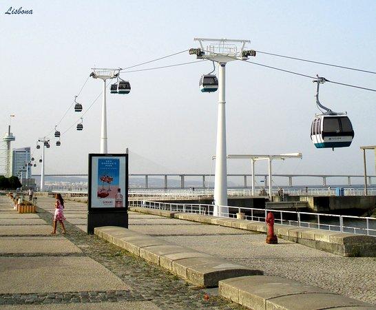 Lisszabon, Portugália: Telecabine Lisboa