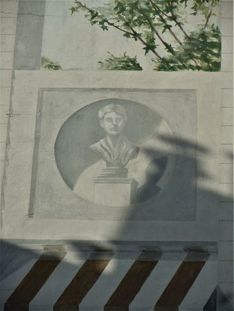 Fresque Le Jardin Suspendu: Détail de la fresque