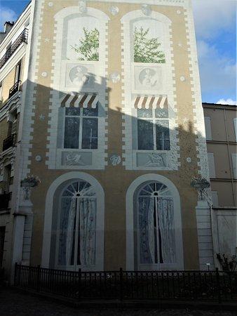 Fresque Le Jardin Suspendu