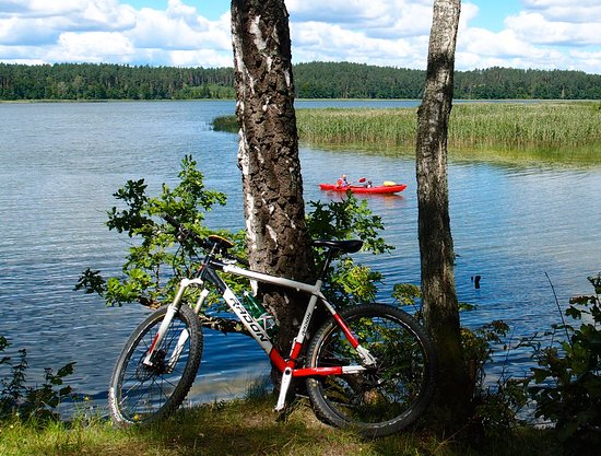Warmia-Masuria Province, Pologne : Radwandern in Polen, Biking in Masurian Lake District, active holidays in Poland with activeast-tours.com