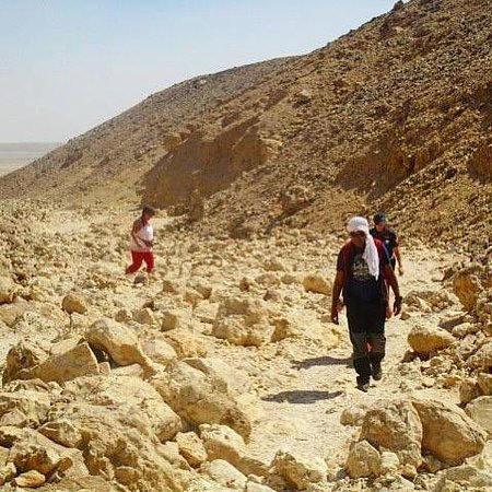 Hiking in the hills In Luxor with Always Egypt