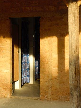 Zona de servicios comunes: baños y duchas.