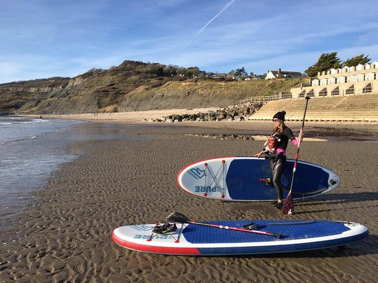 Jurassic SUP & Fitness Ltd: Charmouth Beach winter paddle