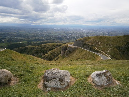 View from the summit of Te Mata near Napier