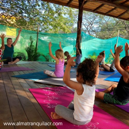 Join us for kids yoga Wednesday & Saturday at 3:30