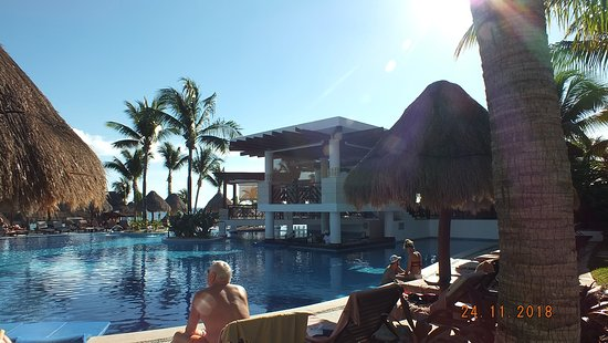 Excellence Playa Mujeres: Part of the main pool.