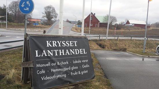 Granna, Suecia: Krysset Lanthandel