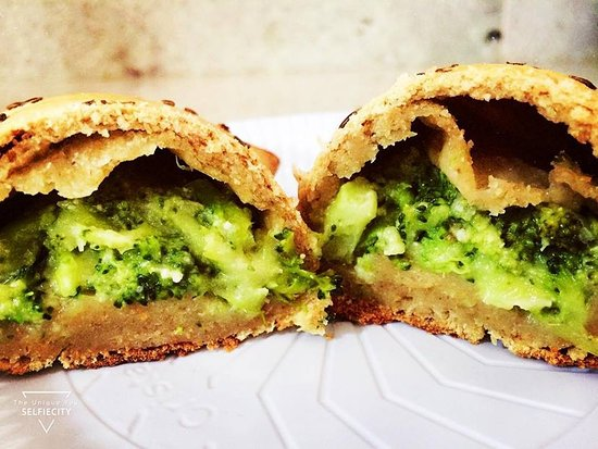 G Kiosk: Baguete Integral de Brócolis