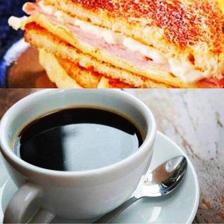 G Kiosk: Misto quente/Torrada com Café Passado/Coado