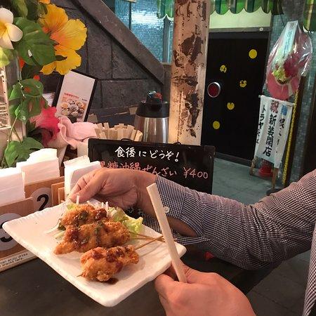 Shinyokohama Ramen Museum: ryojで飲みながら待ってる