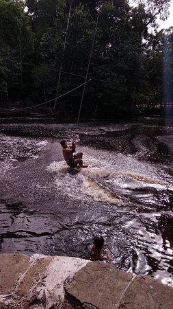 Amazonas Pirangueiros Tours: Mergulho na Cachoeira dos Pássaros. Presidente Figueiredo