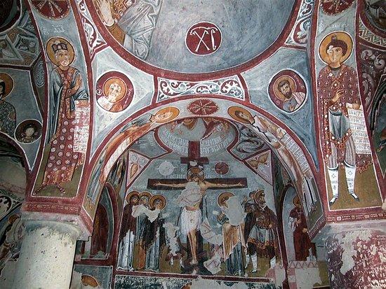 Frescos of a church in Cappadocia