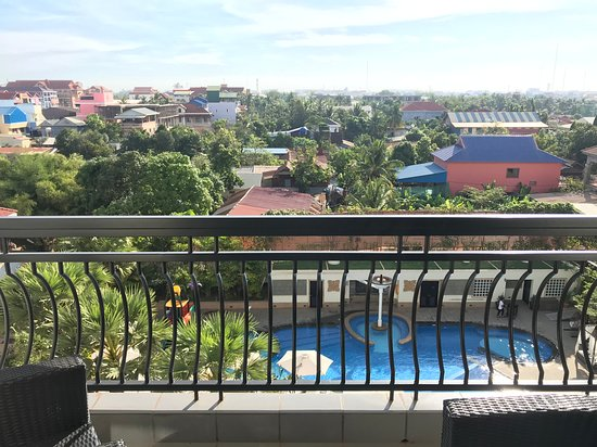 Courtyard by Marriott Siem Reap Resort: View from suite #638