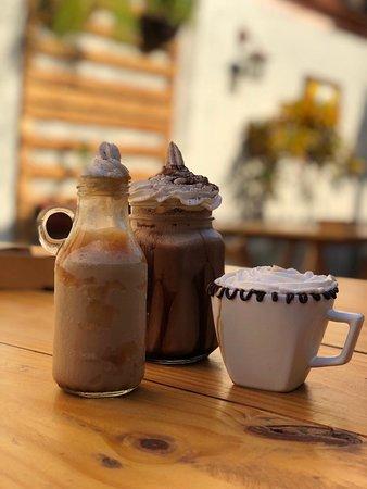 Frozzens de cafe e cappuccino