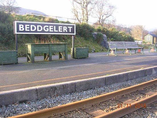 Beddgelert village railway station