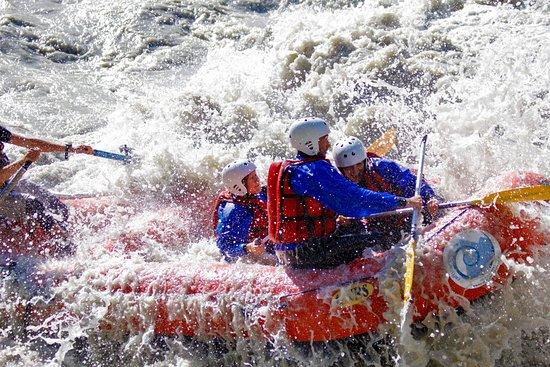 Rafting estremo nella parte alta della Valle D'Aosta