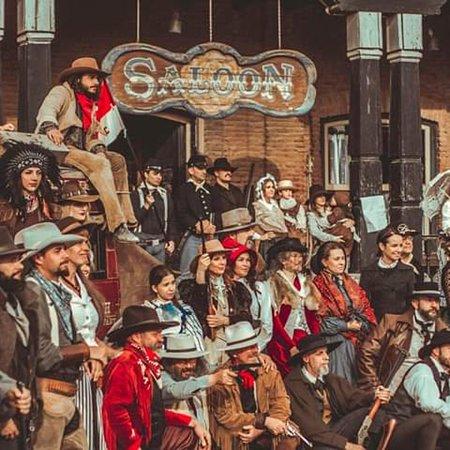Oasys MiniHollywood: II OLD WEST HISTORY/ II RECREACION HISTÓRICA DEL OESTE se celebra cada Noviembre