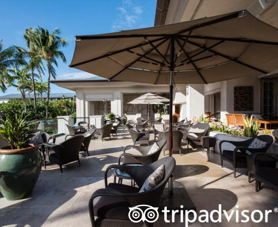 Patio at Fairmont Orchid, Hawaii