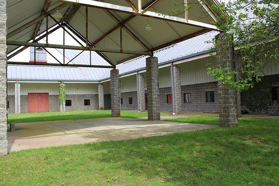 Courtyard at 103 College Farm Rd