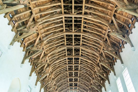 Incredible internal roof structure