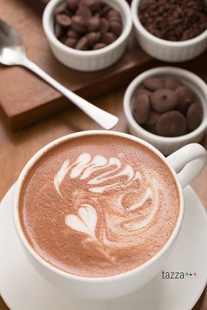 Tazza Cafe and Patisserie, Lahug: Chocolate, anyone?