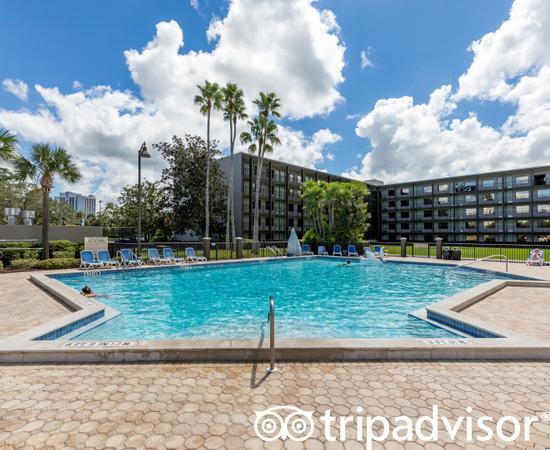 The Oasis Aquatic Pool Area at the Wyndham Lake Buena Vista