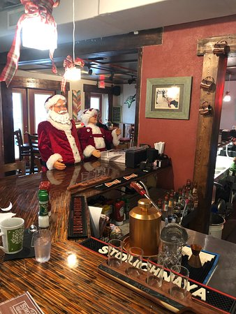 Burg'r Bar: Even the Claus family dines here.