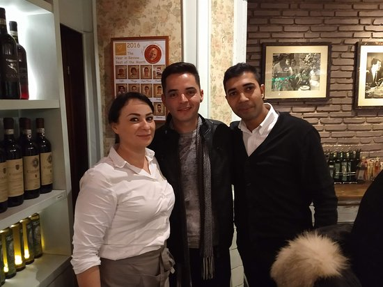 Equipe do Thats Amore - Roma