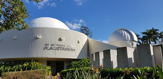 Sir Thomas Brisbane Planetarium: The planetarium.