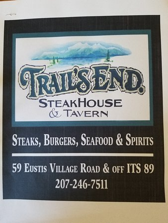 Eustis, ME: Steaks, Burgers, Seafood & Spirits