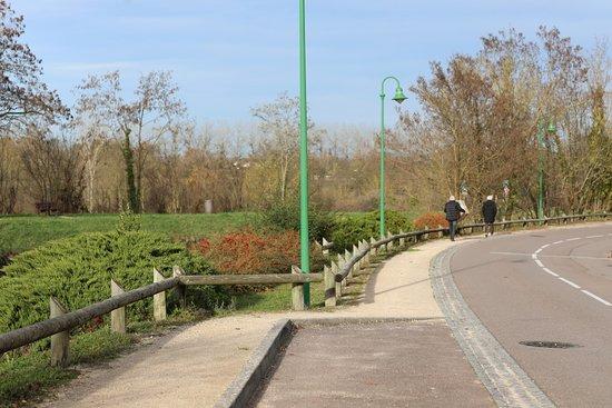 Champforgeuil, France: Le pont du canal du centre, jolie balade car il y a une piste cyclable qui longe ce canal