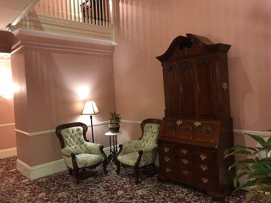 Interior of The Monterey Hotel in Monterey.