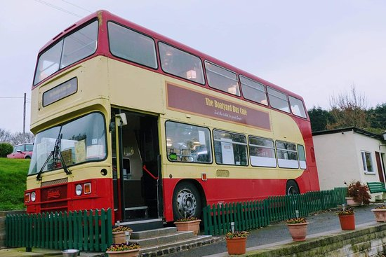The bus exterior