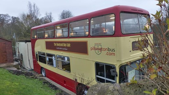 The Boatyard Bus Cafe: The bus exterior