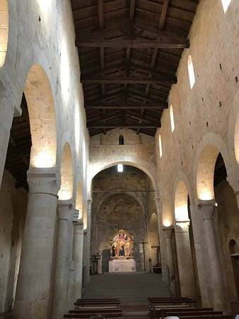 Interior of the Abbey