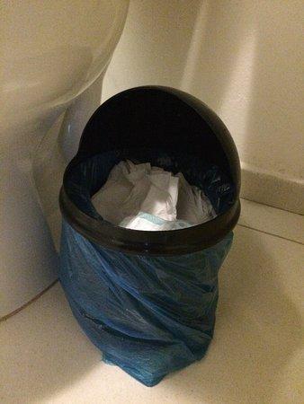 lixo sem tampa