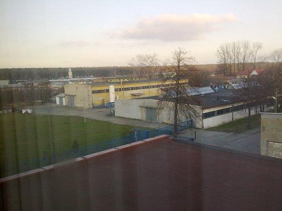Starachowice, Pologne : widok z okna pokoju 228
