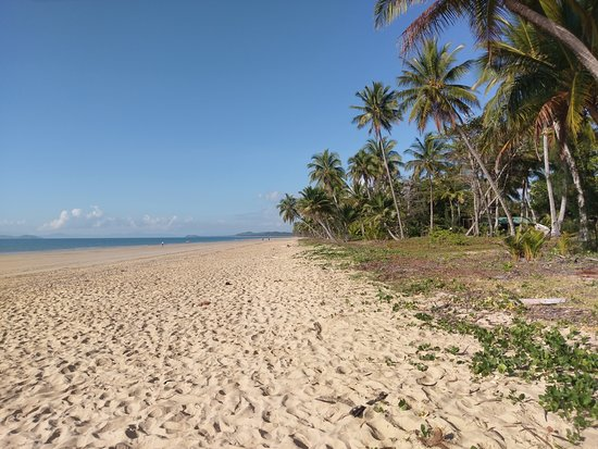 The Beach Outside the Resort