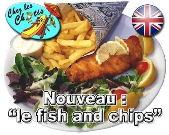Fish and chips (cabillaud )